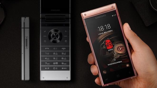 Smartphone, Samsung, Klapphandy, Samsung W2019, Heart of the World, Heavenly Wisdom, W2019