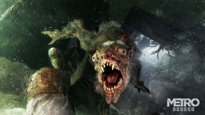 Metro, Deep Silver, Metro Exodus, Monster, 4A Games