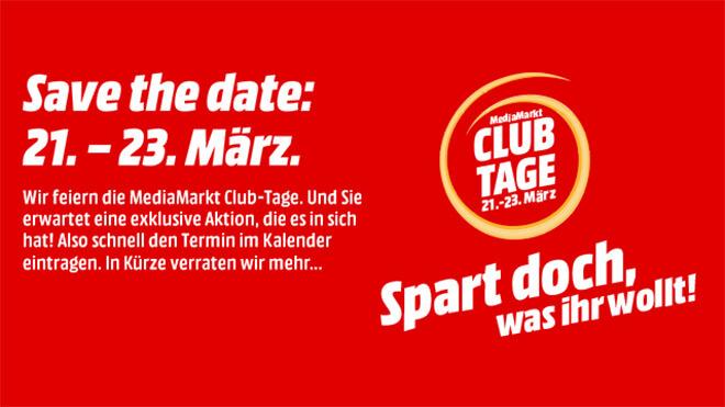 Logo, Sonderangebote, Media Markt, Rabattaktion, Mediamarkt, Club Tage