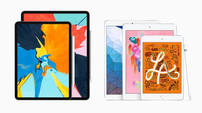 Apple, Apple iPad mini, Apple iPad air, ipad mini 5, ipad Air 3, ipad 2019