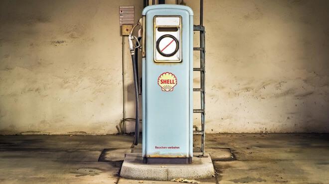 Shell, Tankstelle, Benzin