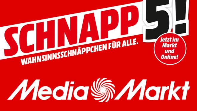Sonderangebote, sale, Rabattaktion, Deals, Media Markt, Schnapp des Tages, Schnapp 5