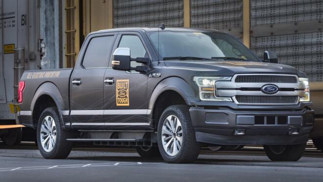 Elektromobilität, Elektroauto, Ford, truck, Pickup, F-150, Pick-up