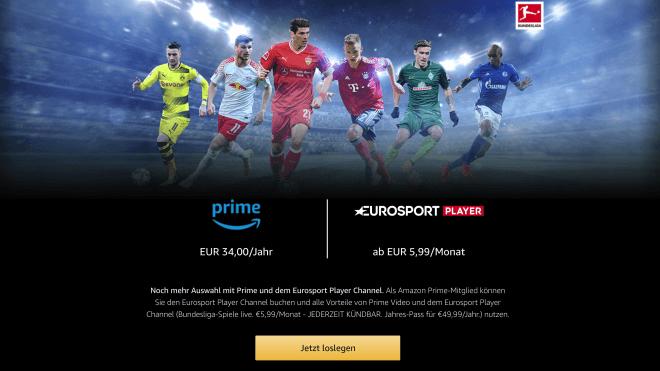 Stream, Amazon Prime, Bundesliga, Eurosport Player, Eurosport