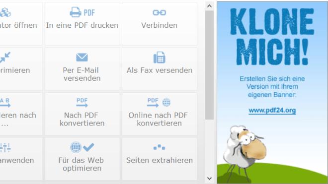 PDF24 Creator Download - PDF-Dateien erstellen