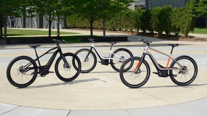Fahrrad, E-Bike, Harley-Davidson