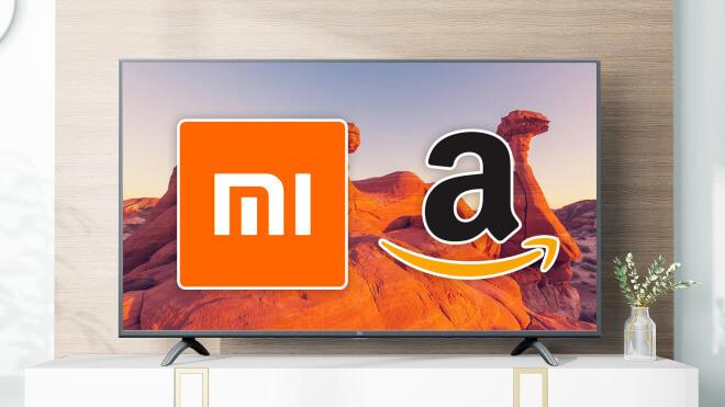 Amazon, Tv, Fernseher, Xiaomi, 4K, Ultra HD, Xiaomi Mi Smart TV 4S