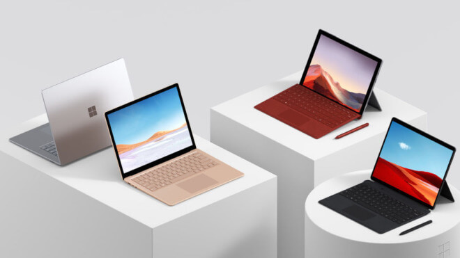 Surface Pro 7, Surface Laptop 3, Surface Pro X, Surface Event 2019