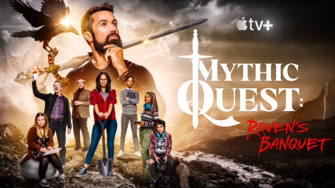 Trailer, Apple, Streaming, Serie, Apple TV+, Comedy, Mythic Quest, Mythic Quest: Raven's Banquet, Raven's Banquet
