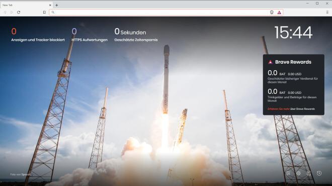 Browser, Webbrowser, Brave