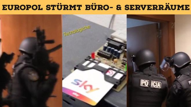 Server, Polizei, Streamingportal, Razzia, Europol, Verhaftet, RAID, Serverfarm