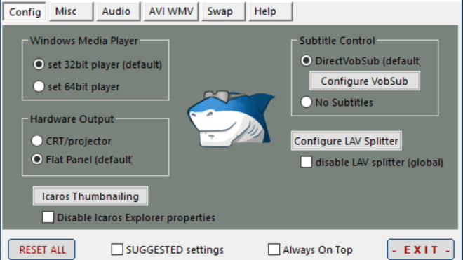 Codec Pack, Shark, shark007