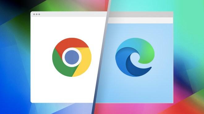 Browser, Logo, Chrome, Webbrowser, Edge, Microsoft Edge, Google Chrome, Spartan Browser, project spartan, Microsoft Spartan, Microsoft Browser, Edge Chromium, Versus, Edge Browser, Chrome Browser, Google Chrome Browser, Chrome Logo, Edge vs. Chrome, Chrome vs. Edge