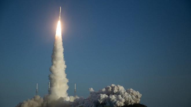 Start, Mars 2020, Mars Rover, Perserverance