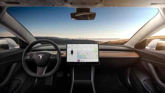 Display, Bildschirm, Elektroautos, tesla, Tesla Motors, Elektroauto, E-Auto, Model 3, Tesla Model 3