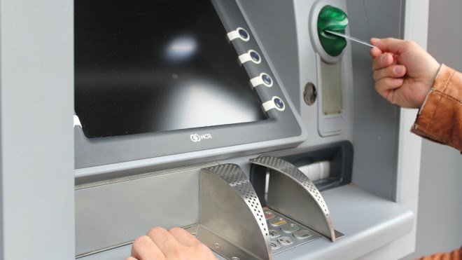 Geld, Geldautomat, ATM