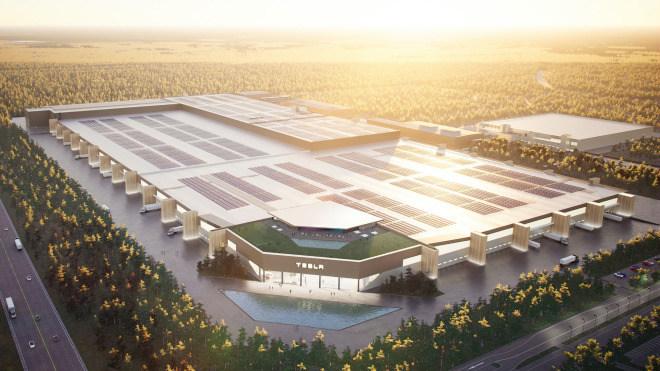 tesla, Tesla Motors, Berlin, Fabrik, Brandenburg, Gigafactory, Grünheide