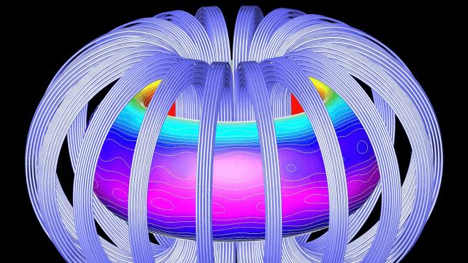 Fusion, Kernfusion, Reaktor, Tokamak