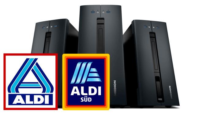 Pc, Computer, prospekt, Angebote, Medion, Aldi, Desktop-PC, Supermarkt, Discounter, Aldi Süd, ALDI Nord