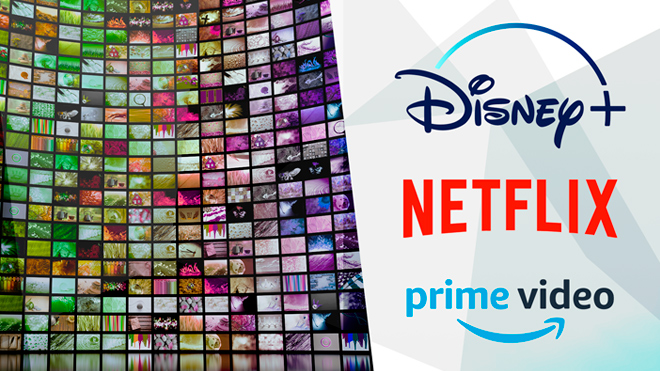 Streaming, Logo, Netflix, Videoplattform, Streamingportal, Disney+, Amazon Prime Video, Videostreaming, Prime Video, Disney Plus, Netflix Logo