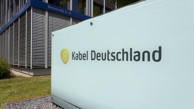 Kabel Deutschland, Kabelanbieter, Unterf�hring