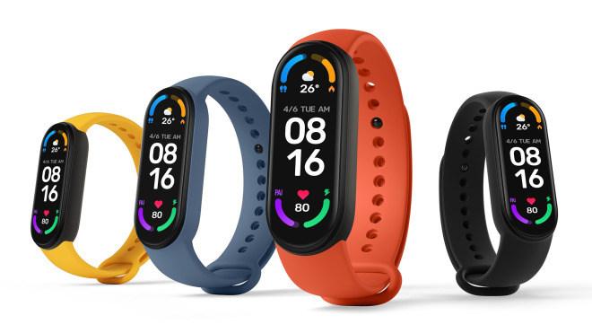 Xiaomi, Wearables, Fitness-Tracker, Smartband, Mi Band 6