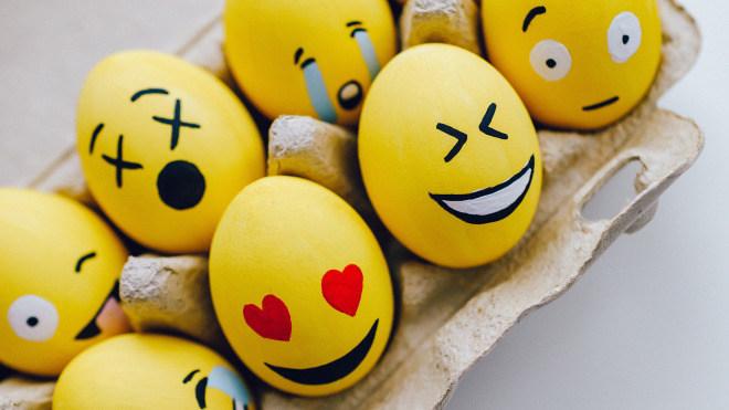 Emojis, Smiley, 1. April, Smilies, April April, Aprilscherze, Eier, Jokes