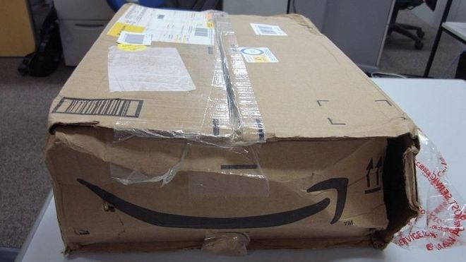 Amazon, Paket, Beschädigung