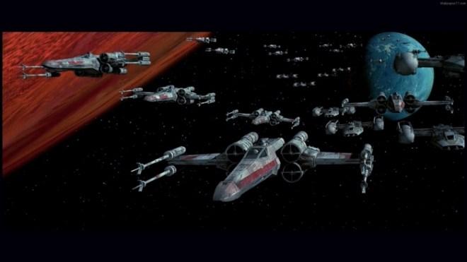 Star Wars, Weltraum, X-Wing