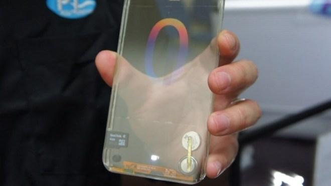 Smartphone, Polytron, Transparentes Smartphone