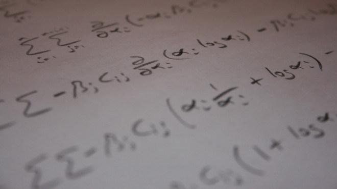 Rechnung, Papier, Mathematik