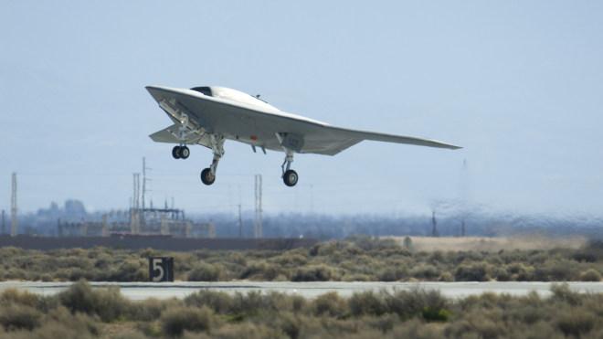 Drohne, X-47B, Tarnkappen Bomber