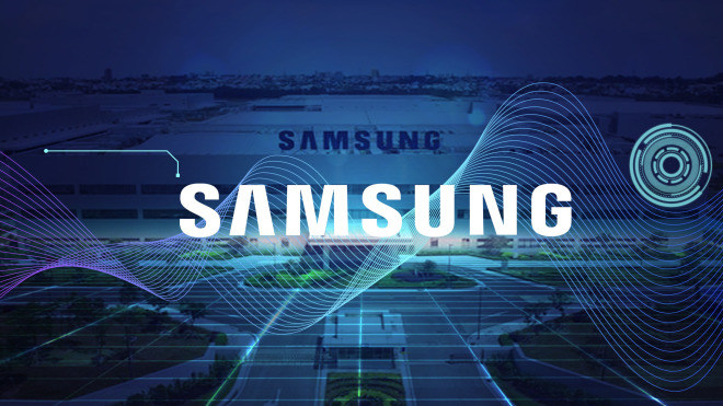 Samsung, Logo, Tv, Fernseher, Produktion, Fertigung, Werk, Ho Chi Minh City