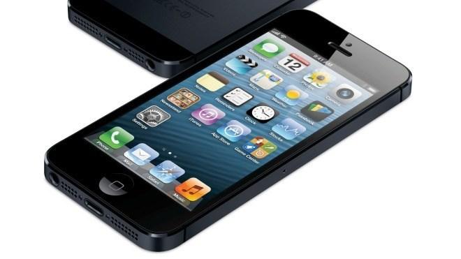 Smartphone, Schwarz, apple iPhone 5