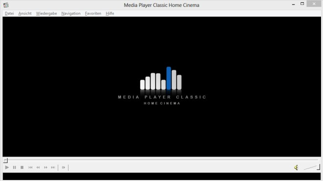 Videoplayer, media player classic, Home Cinema