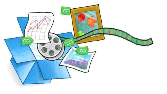 Logo, Dropbox, Online Speicherdienst