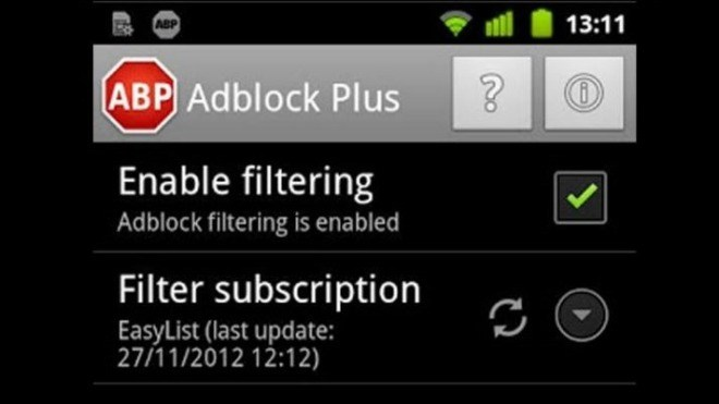 Android, App, Adblock Plus