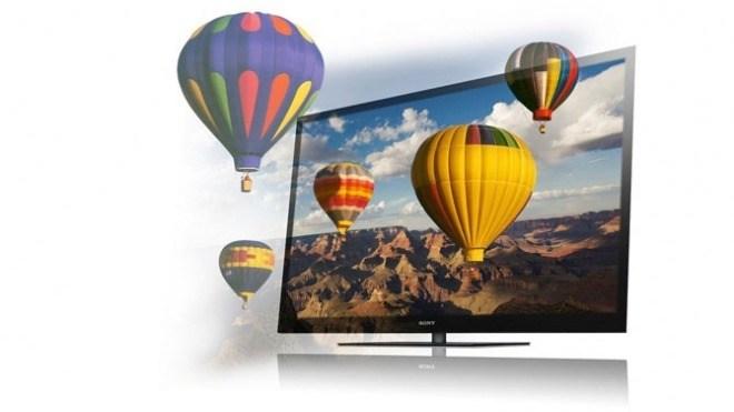 Sony, Display, Fernseher, LCD