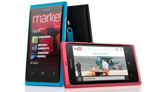 Smartphone, Windows Phone 8, Nokia Lumia 800