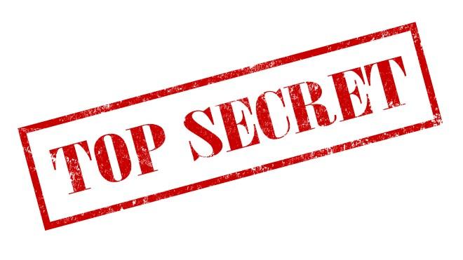 Logo, Geheim, Top Secret