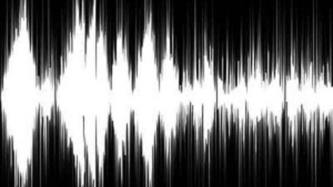 Audio, wei�, Schwarz, SoundWave