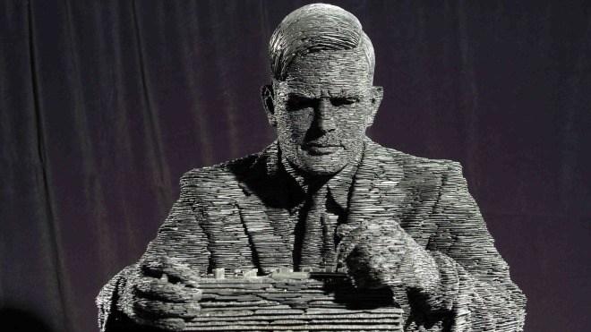 Statue, Alan Turing, Turing