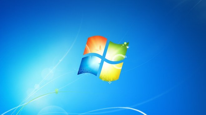 Windows 7, Logo, Hintergrundbild