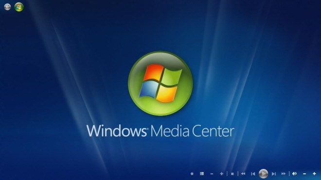 Microsoft, Logo, Windows Media Center