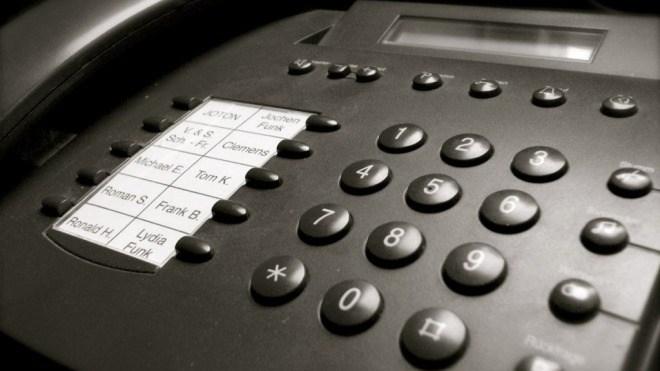 Telefon, Telefonieren, Festnetz