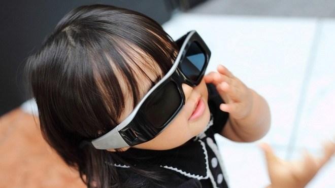 3D-Fernsehen, Kind, 3D-Brille