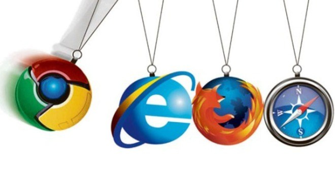Browser, Firefox, Chrome, Internet Explorer, Safari