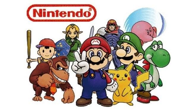 Logo, Nintendo, Videospiel Charaktere