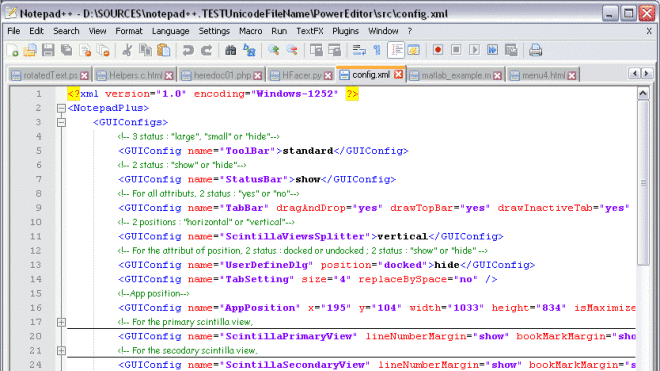 Editor, Notepad, Notepad++