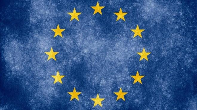 Eu, Europa, Europ�ische Union, Flagge
